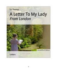 A Letter to My Lady by Thomas
