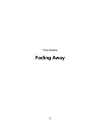 Fading Away by Cicatrix, Tricia
