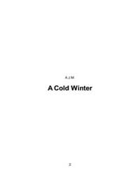 A Cold Winter by A.