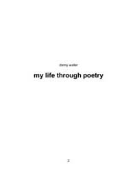 My Life Through Poetry by Waller, Danny