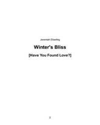 Winters Bliss by Elberling, Jeremiah