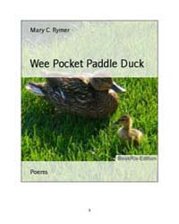 Wee Pocket Paddle Duck by Mary, C., Rymer