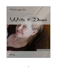 Write it Down by Ceili, McCollonough