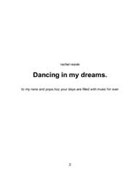 Dancing in My Dreams by Reavie, Rachel