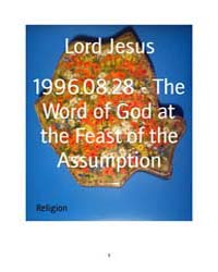 1996.08.28 - the Word of God at the Feas... by Lord Jesus