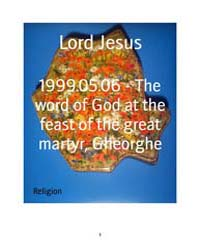 1999.05.06 - the Word of God at the Feas... by Lord Jesus