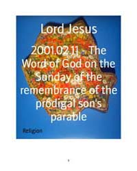 2001.02.11 - the Word of God on the Sund... by Lord Jesus