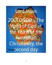 2001.06.09 - the Word of God at the Feas... by Lord Jesus