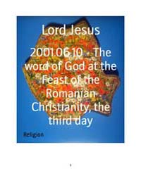 2001.06.10 - the Word of God at the Feas... by Lord Jesus