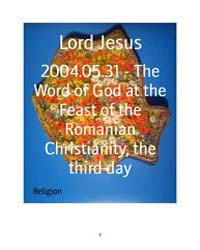 2004.05.31 - the Word of God at the Feas... by Lord Jesus