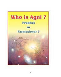 Who is Agni Prophet or Parmeshwar by Q. S. Khan
