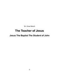 The Teacher of Jesus by Omar Baloch