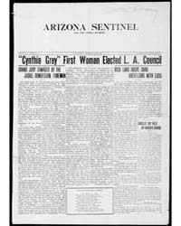 Arizona Sentinel and Yuma Weekly Examine... by Shorey, W.H.