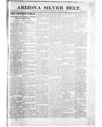Arizona Silver Belt : Volume 1, Feb 1900 by Hamill, J.H.
