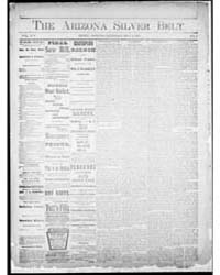 Arizona Silver Belt : Volume 1, May 1891 by Hamill, J.H.