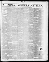 Arizona Weekly Citizen : Volume 11, Sep ... by Citizen Print. & Pub. Co.