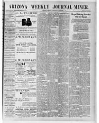 Arizona Weekly Journal Miner : Dec 1891 by Arizona Pub. Co.