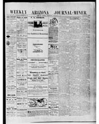 Arizona Weekly Journal Miner : Sep 1890 by Arizona Pub. Co.