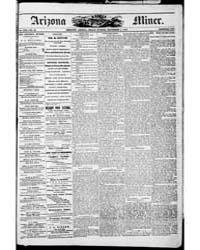 Arizona Weekly Miner : Volume 11, Sep 18... by Marion, J.H. ; Weaver, B.H.