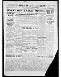 Bisbee Daily Review : Nov 1905 by Kelly, W.B.
