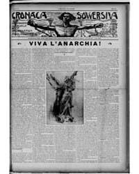 Cronaca Sovversiva : Volume 1, July 1918 by Galleani, Luigi