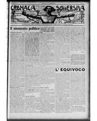 Cronaca Sovversiva : Volume 1, Nov 1916 by Galleani, Luigi