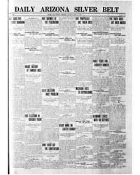 Daily Arizona Silver Belt : April 1907 by Hamill, J.H.
