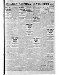 Daily Arizona Silver Belt : July 1908 by Hamill, J.H.
