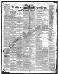 Daily National Republican : Volume 10, J... by Murtgah, W.J.