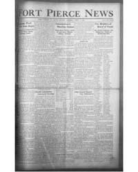 Fort Pierce News : Volume 3, April 1911 by Brosn, Arthur B.