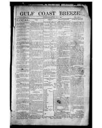 Gulf Coast Breeze : Volume 1, Nov 1898 by McLeod, R. Don, Jr.