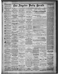 Los Angeles Daily Herald : April 1876 by Herald Print. Co.