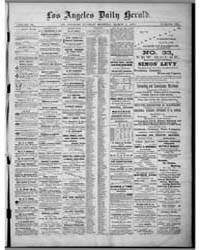 Los Angeles Daily Herald : March 1875 by Herald Print. Co.