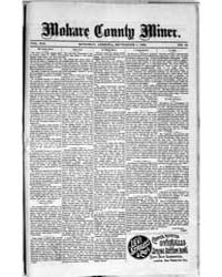Mohave County Miner : Volume 1, Sept 189... by A.H. Smith & Co.