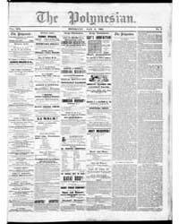 Polynesian : Volume 1, May 1862 by The Polynesian