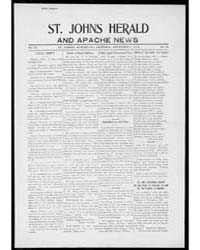 St. Johns Herald and Apache News : Dec 1... by Ling, R.