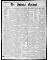 The Arizona Sentinel : June 1888 by Shorey, W.H.