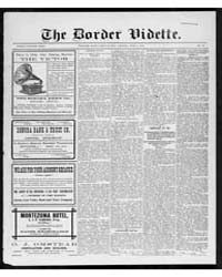The Border Vidette : Volume 41, June 191... by Vidette Pub. Co.