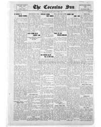 The Coconino Sun : Apr 1913 by Funston, C.M.