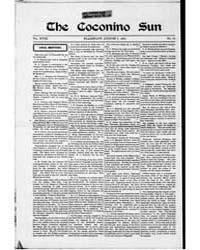 The Coconino Sun : Aug 1901 by Funston, C.M.