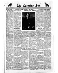 The Coconino Sun : Aug 1919 by Funston, C.M.