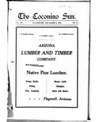 The Coconino Sun : Dec 1898 by Funston, C.M.