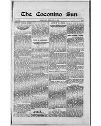 The Coconino Sun : Feb 1902 by Funston, C.M.