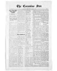 The Coconino Sun : Feb 1909 by Funston, C.M.