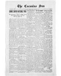 The Coconino Sun : Feb 1910 by Funston, C.M.