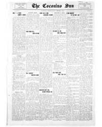 The Coconino Sun : Feb 1913 by Funston, C.M.