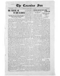 The Coconino Sun : July 1911 by Funston, C.M.