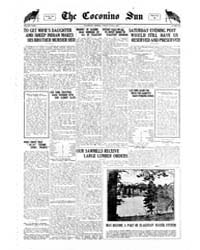The Coconino Sun : June 1922 by Funston, C.M.