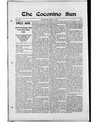 The Coconino Sun : Mar 1902 by Funston, C.M.
