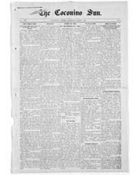 The Coconino Sun : Mar 1908 by Funston, C.M.